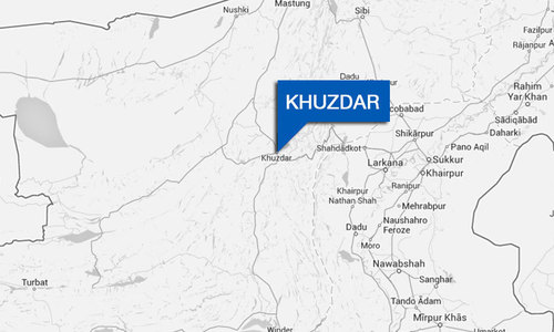 Two die in Khuzdar accident