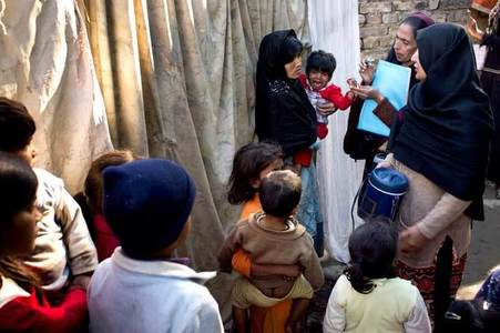 Sindh records year's 15th polio case