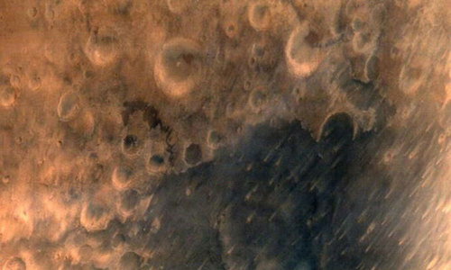 India's spacecraft beams back first Mars photos