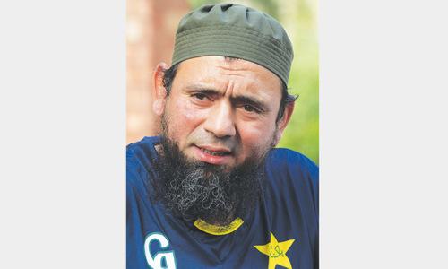 Saqlain hopeful of Ajmal's comeback