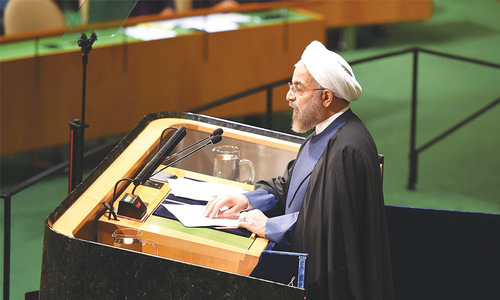 Rouhani accuses West, Arab states of fomenting extremism