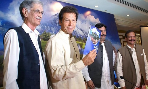 Centre issues white paper on performance of PTI-led govt in KP