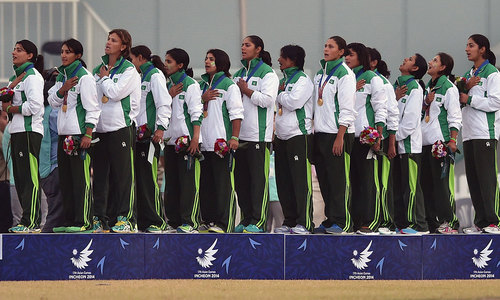 Asian Games: Pakistan win rain-hit women's cricket final