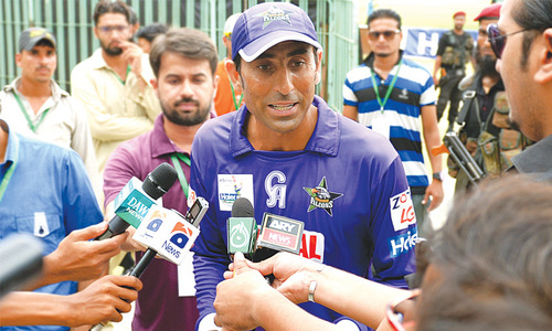 Younis enraged over ODI snub, offers to quit Pakistan cricket