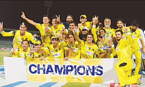 Peshawar Panthers outclass Lions to clinch National T20 title