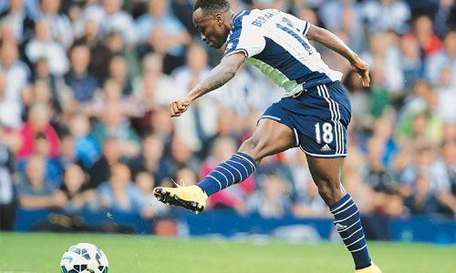 Berahino brace sends Burnley bottom