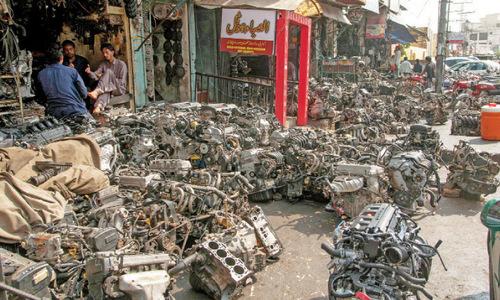Encroachments on Saddar roads a security threat