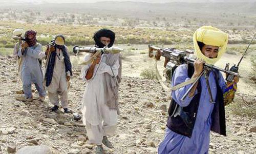 85 'militants' surrender in Dera Bugti