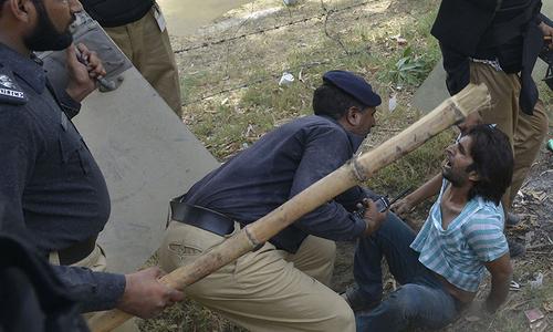 Punjab police living up to their brutal reputation?