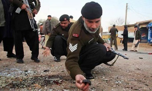 Five militants killed, four injured in Tirah explosion