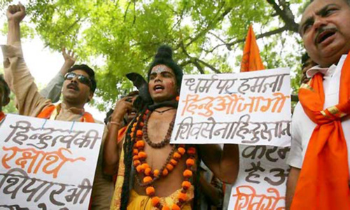 How are the Hindus facing Hindutva?