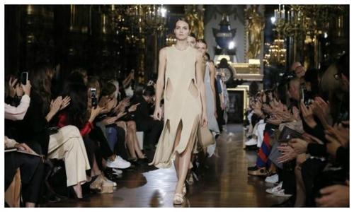 Stella McCartney goes airy for summer, Lagerfeld Barbie a hit at Paris Fashion Week