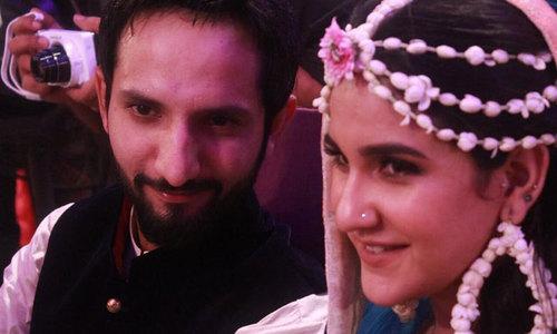 Anoushay Abbasi, Ainan Arif Abbasi tie the knot