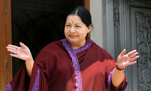 Film industry stages fast to support jailed Indian leader Jayalalithaa
