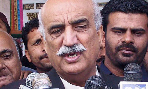 Khursheed Shah sends legal notice to Imran Khan for corruption allegations
