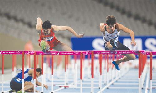 Doping cases overshadow teenage champions at Asian Games
