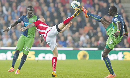 Stoke City add to Newcastle's misery