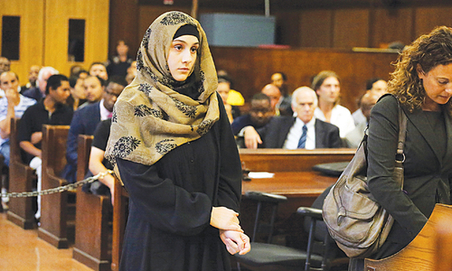 Marathon bombing suspects' sister faces judge