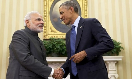 Obama, Modi vow  to push relations  to new levels