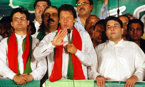 PTI to observe Eid at  protest site