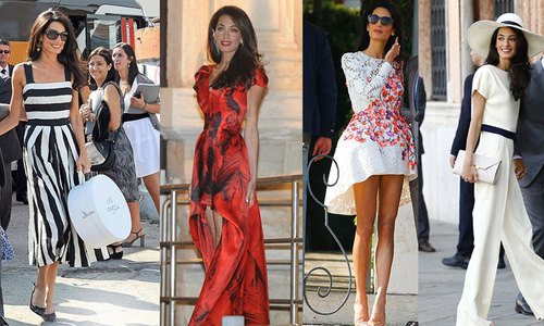 Amal Alamuddin: Dresses from the big fat Italian wedding unveiled