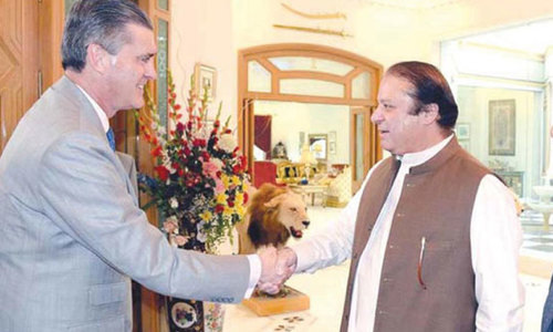 US-Afghan pact: Olson says Pakistan's reservations to be paid adequate attention