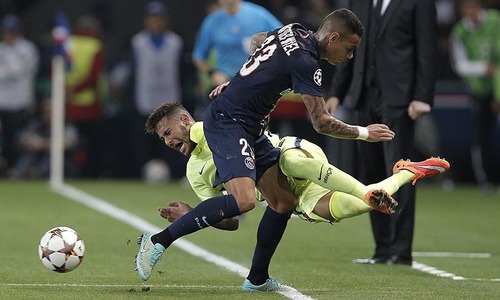 PSG wins 3-2 against Catalans in CL clash
