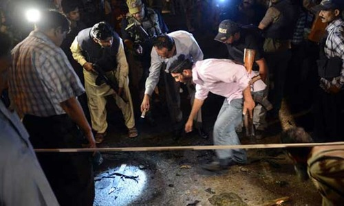 Grenade attack injures two policemen in Karachi