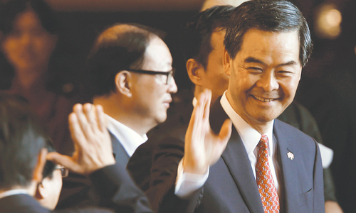 Leung: the unprincipled wolf of Hong Kong or Beijing's cipher?