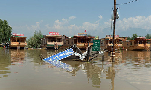 Anger mounts as Kashmir floodwaters subside