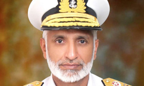 Admiral Zakaullah appointed new Chief of Naval Staff