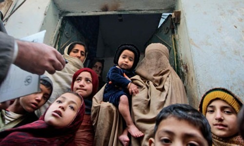 Pakistan set to record highest number of polio cases: officials