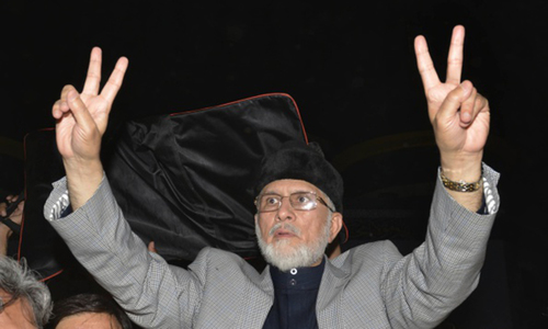 Qadri announces 'revolution' rallies in Faisalabad, Lahore