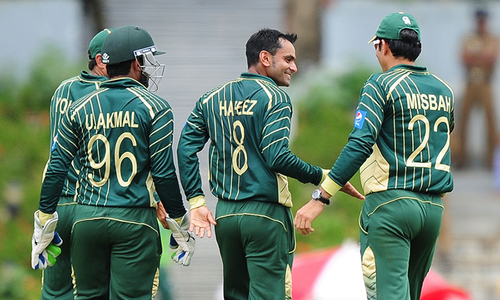 Hafeez unfazed after action reported