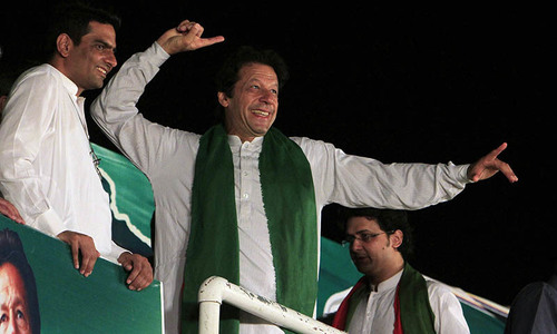 Masses have rejected the govt, Imran tells Mianwali rally