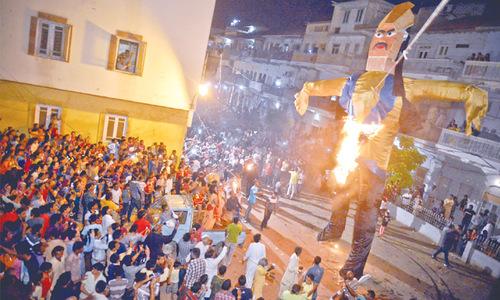 Setting Ravan ablaze