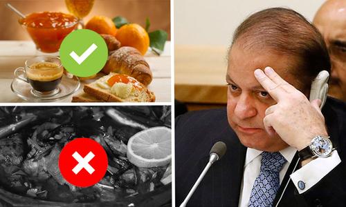 No nehari at PM's breakfast