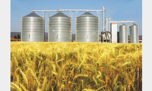 Poor grain storage infrastructure