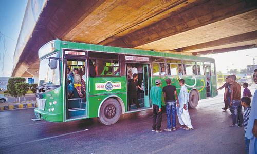 Follow that (green) bus!