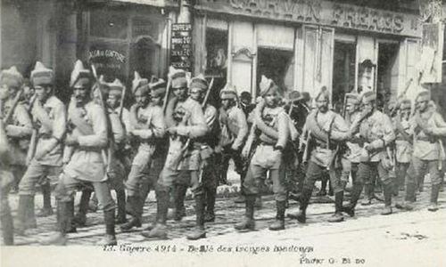 World War One: the eastern wind