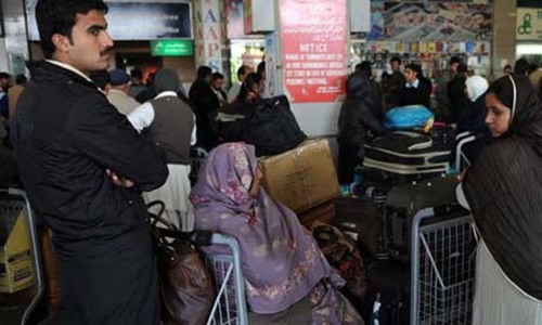 PIA official suspended for letting Afghans go to UK