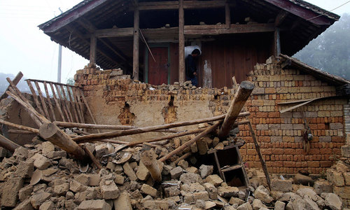 Earthquake jolts China's Yunnan province