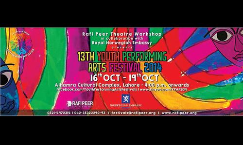 Youth arts festival round the corner