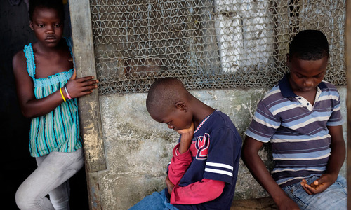 Orphaned Liberian children ostracized by Ebola