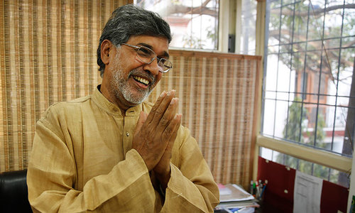 Satyarthi to 'join hands' with Malala for peace