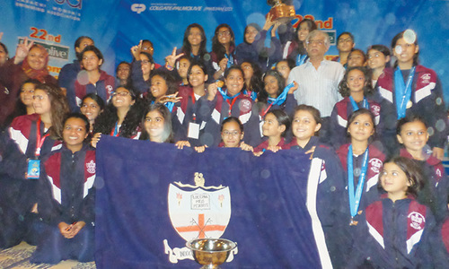 KGS retain women's swimming title