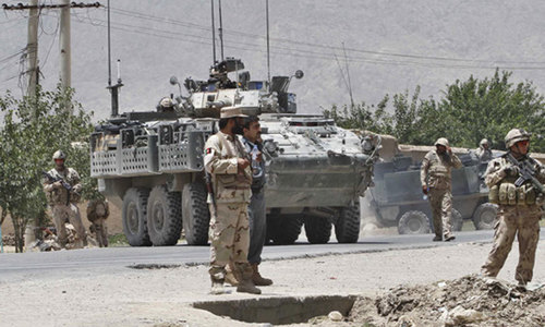 Suicide bombers kill three in Afghanistan