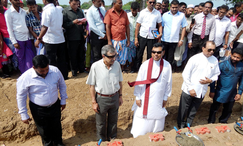 Pakistan housing project for war-affected families launched in Sri Lanka