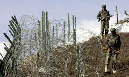 India violates ceasefire along LoC again: ISPR