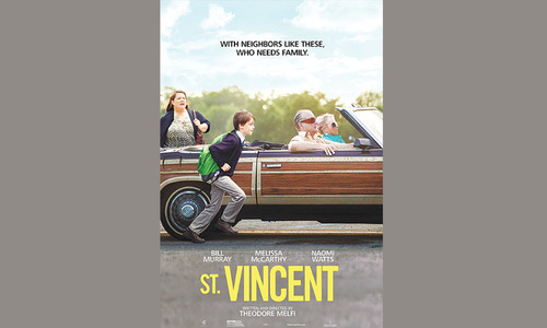 St Vincent — a celebration of Bill Murray as the grizzled eccentric